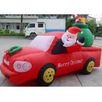 China Inflatable christmas / halloween / inflatable festival decoration / inflatable santa & car wholesale