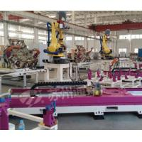 China Pink Welding Industry Robot 7 Axis , High Precision Robot Linear Track wholesale