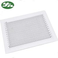 China Powder Coating Supply Air Filter Grille , Aluminum Hvac Grilles Compact Structure on sale