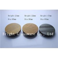 China High Quality Wood Lids for Candle Jars wholesale