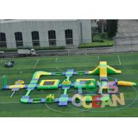 China 1.2MM Huge Commercial Inflatable Water Park Rectangle Waterproof For Outdoor wholesale