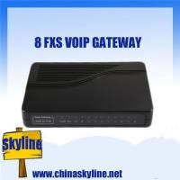 China 8 FXS VOIP Gateway, support ATA, H.323& SIP wholesale