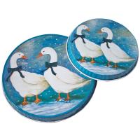 China Personalized  Metal Burner Cover With Round Shape, 2pcs With Different Size For Each Set wholesale
