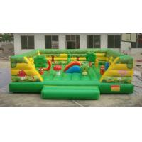 China Inflatable fun city / inflatable playground  / kids bouncer slide playground fun city wholesale