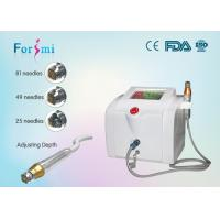 China Fractional RF Microneedle Invasive For Skin Whitening, Wrinkles Removal wholesale