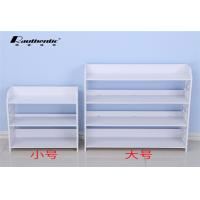 Quality White Simple Wood Shoe Storage Cabinet Shoe Dust Type Convenient Install for sale