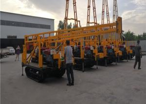 China 15kw Hydraulic Mine And Spt Test Crawler Drilling Machine With Drill Tower wholesale
