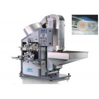 China Automatic Rounder Aluminum Lid Hot Foil Stamping Machine One Color Top Surface wholesale