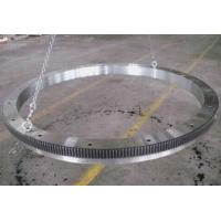 China Large Rolled Ring Alloy Steel Flange Forging For Pressure Vessel Industrial wholesale