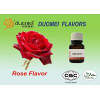 Fresh Rose Petal Soft Drink Flavours , Beverage PQ Based Flavoring