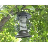 China Solar Mosquito Repeller Zapper Killer LED Light Fly Bug Insect Repellent Lamp on sale