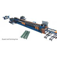 China Guardrail Roll Metal Forming Machines on sale