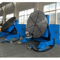 China High Precision Pipe Rotating Welding Table With Slew Bearing Oil Free Gearbox wholesale