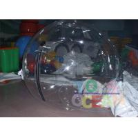 China SGS Human Sized Clear Inflatable Water Balls Amazing For Adults wholesale