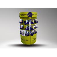 Wholesale Green Cardboard Stationery Display Stand Designed for Promotion With Glossy lamination from china suppliers