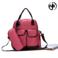 China China Guangzhou factory supplier mother baby quilted designer adult waterproof diaper bag backpack wholesale