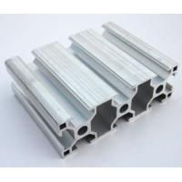 China 6005 / 6063 T5 Extruded Aluminum Framing , Assembly Line Profile For Electromechanical Parts wholesale