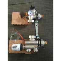 China Hot Water Tempering Valve Brass Water Flow Control Valve For Underfloor Heating Manifold wholesale
