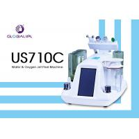 China Deep Skin Cleaning Water Oxygen Jet Peel Machine Acne Removal 6MHZ Frequency wholesale