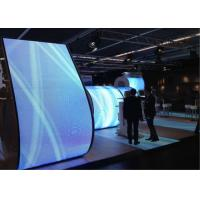 Unique RGB Creative Led Display , Bendable Led Screen For Advertising Outdoor