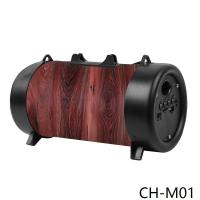 China CH-M01 medium barrel with flashlight bluetooth speaker  bluetooth music box   bluetooth smart speaker wholesale