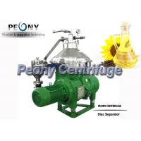 China Vegetable Oil Separator - Centrifuge / Automatic Oil Refining Separator wholesale
