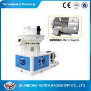 China Rotex Vertical Ring Die 1-2t/h Feed Pelleting Machine , Grass Pellet Machine wholesale
