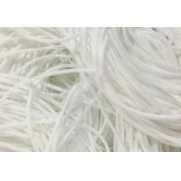 China Eco Friendly Round Stretchy Elastic String Cotton Material High Tenacity wholesale