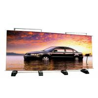 China Custom Double Sided Retractable Banner Stand , Outdoor A Frame Roll Up Banner Stand wholesale