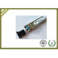 China SFP 1.25G 1310nm 20km GLC-LH-SM Singlemode metal type compatible with Cisco on sale