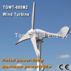 TGWT-600M 600W 12V/24V/48 wind turbine Three phase permanent magnet AC synchronous generator