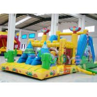 Quality Big Interactive Challenge Sport Game Inflatable Obstacle Course Combo For Kids Play for sale