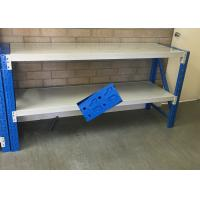 China Low Carbon Rolled Steel Heavy Duty Storage Shelves For Garage 500-2000KG Capacity wholesale