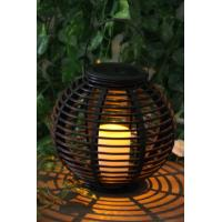 China Rattan Solar Garden Lights Solar panel 2V / 40MA Feature Decorating and lighting Material Plastic Support OEM/ODM china wholesale