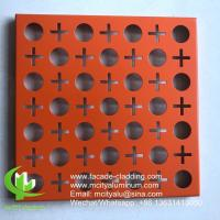 China 3003 2mm Metal  Fluorocarbon Aluminum Solid Panel House Cladding 1.5 - 10mm wholesale