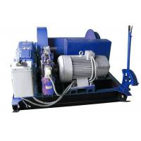 China Electric Mine Machine With Grooved Sleeve  , Windlass Machine With Winch Controller wholesale