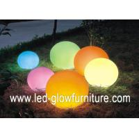 China Soft light Remote control colorful led flood light mood ball lamp with lithium battery wholesale
