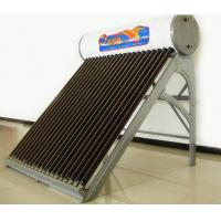 China 167L Non-Pressurized Solar Water Heater For Solar Project , Galvanized Sheet wholesale
