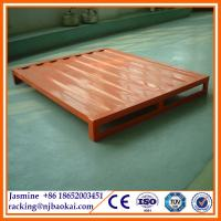China heavy duty powder coating steel pallet/stainless steel pallet for sale(manufacturer) wholesale