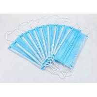 Buy cheap High Filtration Disposable Face Mask Odorless High Fluid And Respiratory from wholesalers