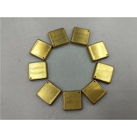 China Drawing Progressive Deep Drawing Die Four Cavities Square Fine Layout Brass wholesale