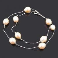 China Handmade Necklace, Decorated with Imitation Pearl, Small Orders are Welcome wholesale