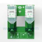 China SH4694-eye wash solution,Plum eye wash Station with 2 bottles wholesale