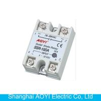 China SSR single phase solid state relay SSR-10 DA SSR-25DA on sale