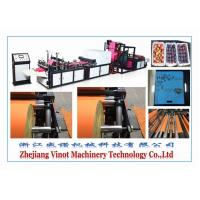 China Rope Piercing Fruit Non Woven Fabric Bag Making Machine Automatic High Speed wholesale