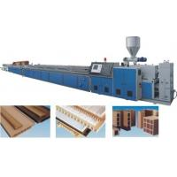 Quality TH 5-30mm Wood Plastic Foamed Board Plastic Extrusion Machine for sale