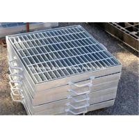 China Ventilated Stainless Steel Floor Grating , Safety Heavy Duty Bar Grating wholesale