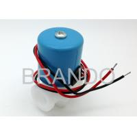 China Fast Coupling PP Body Solenoid Operated Valve , Industrial Solenoid Pneumatic Valve on sale