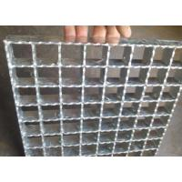 China Hot Rolled Serrated Steel Grating Galvanized Surface Light Weight wholesale