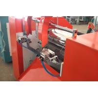 Quality Plastic Cling Film Slitting Machine Linear Speed 200 - 600m / min for sale